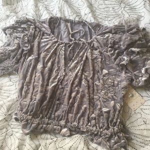 [New With Tags] Free People Velveteen Dreams Top